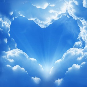 heart-clouds-light-angels-god