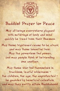 Inspiring Buddhist Prayer for Peace